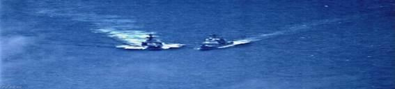 米ロ艦艇 15mまで異常æŽè¿' 米が抗議へ フィリピン海