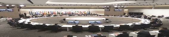 G20 「大阪宣言」採択し閉幕